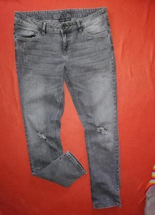 Классные рваные женские джинсы esmara 44 в прекрасном состоянии