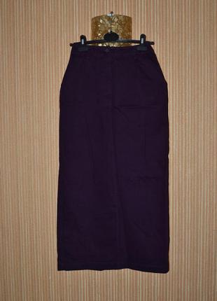 S/36 длинная, катоновая юбка pulls