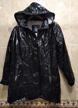 Bermudes плащ xl оверсайз с капюшоном непромокаемый непродуваемый