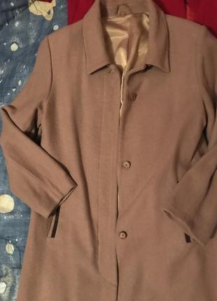 Пальто женское кашемир новое