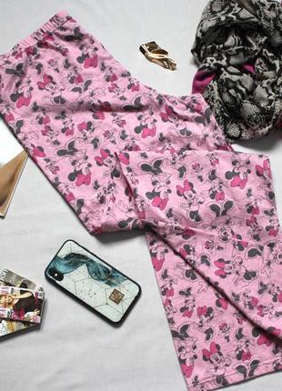 Милые штанишки для дома штаны пижамные с микки маусом
