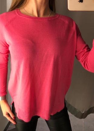 Легкий розовый свитер кофточка amisu есть размеры