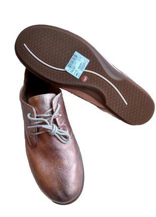 Продам шикарно удобные кожаные мокасины, туфли clarks