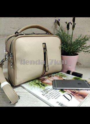 Женская сумка через плечо / клатч eteralsmile hx130 khaki/pink