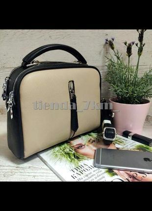 Женская сумка через плечо / клатч eteralsmile hx130  black/khaki