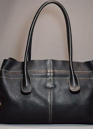 Сумка tod's d bag media женская кожаная бренд. италия. оригинал.