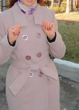 Демисезонное пальто для худенькой девушки