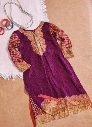 Платье длинное восточное этно бохо