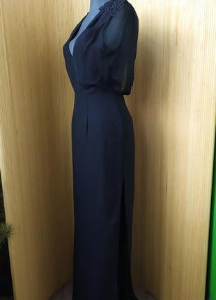 Вечернее / выпускное платье с открытой спиной / кружевом elise rian
