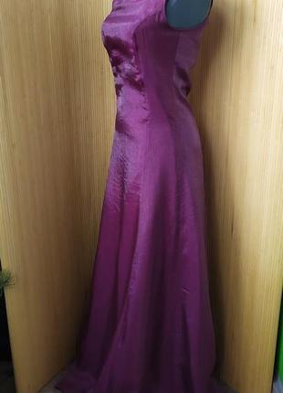 Атласное вечернее платье jdy