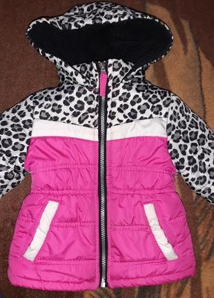 Демисезонная курточка на 12-18мес