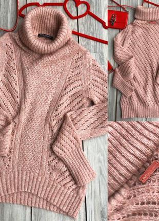 Мохеровый свитер d&g sm