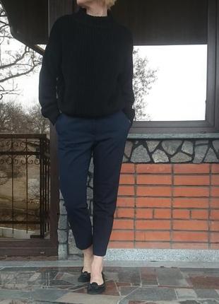 H&m джемпер крупной вязки с высоким горлом, размер s