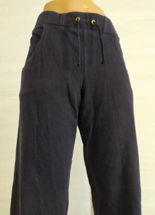 Теплые спортивные штаны с карманами l-xl2 фото