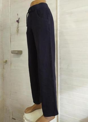 Теплые спортивные штаны с карманами l-xl