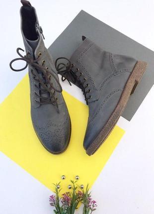 Кожаные ботинки spm boots