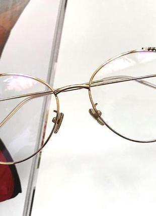 Имиджевые очки, коассная оправа, есть и другие цвета♥️
