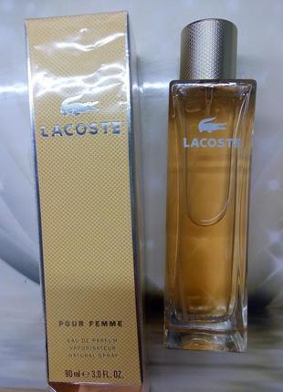 Lacoste pour femme,90 мл, парфюмир. вода