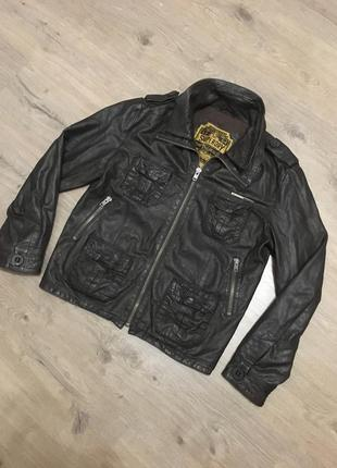 Superdry кожаная куртка как all saints diesel