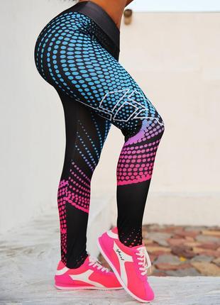 Спортивные лосины для спорта, йоги, фитнеса