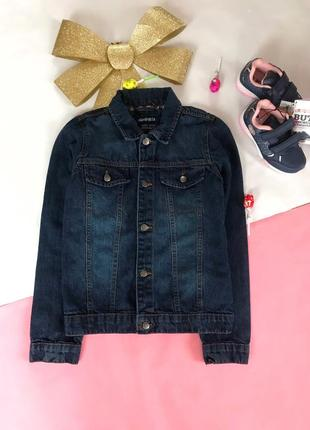 Джинсовая куртка пиджак для мальчиков h&m zara