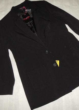 Удлиненный жакет пиджак simply be р.18