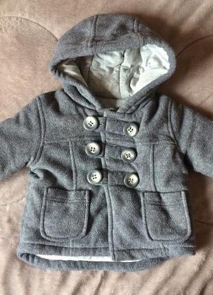 Тёплая мягкая куртка для малыша