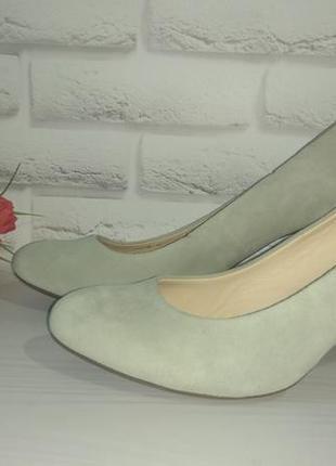 ✴️ новые замшевые туфли geox р 41
