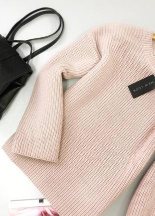 Нежный свитер с вырезом на плече new look6 фото