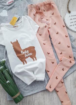 Пижама с ламой