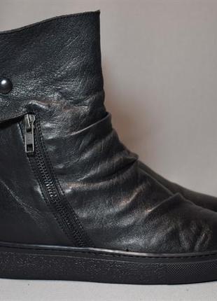 Ботинки ботильоны lemare женские кожаные. италия. оригинал. 38-39 р./25 см.