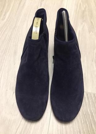 Замшевые сапоги ботинки gabor5 фото