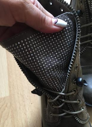 Сапоги ботинки zara
