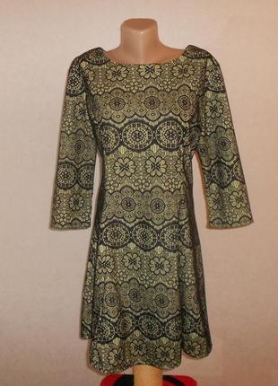 Atmosphere роскошное кружевное качественное платье, р.16, наш 50-52