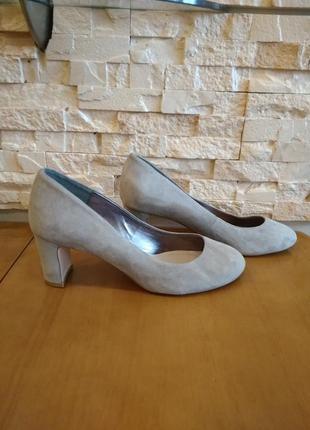 Великолепные красивые туфли! натуральная кожа и замша! р. 36