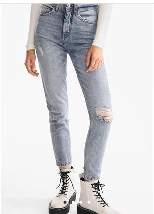 Джинсы женские мом c&a clockhouse, mom jeans , джинси жіночі мом