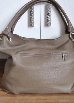 Кожаная сумка borse in pelle / шкіряна сумка2 фото