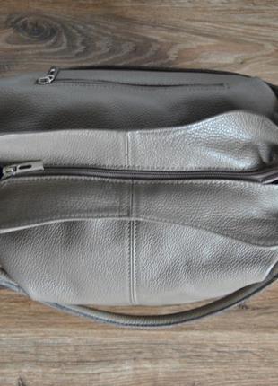 Кожаная сумка borse in pelle / шкіряна сумка5 фото