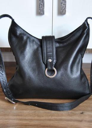 Кожаная сумка alpha / шкіряна сумка