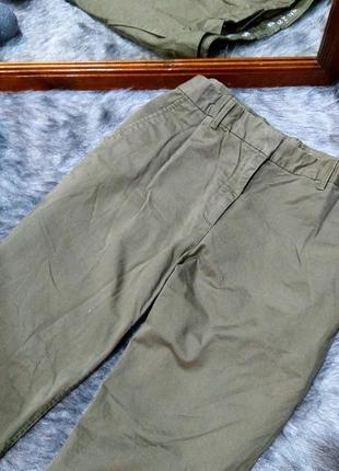 Повседневные джинсы оттенка хаки gap2 фото