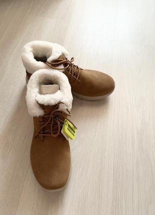 Skechers ботинки зимние новые