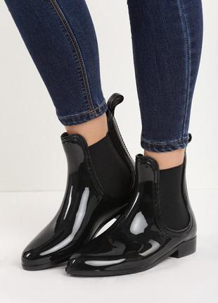 Ботинки челси резиновые польша