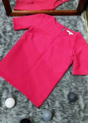Фактурная вафельная блуза кофточка next1 фото
