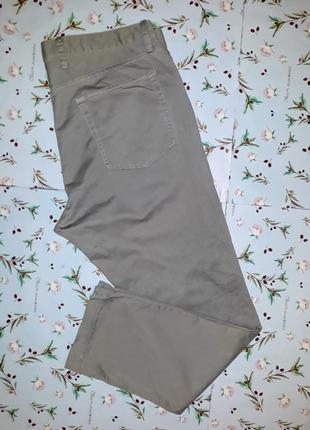 🎁1+1=3 мужские узкие зауженные джинсы gap слим, цвет хаки, размер 50 - 52