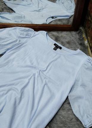 Блуза кофточка с акцентными рукавами фонариками new look2 фото