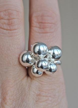 Серебряное кольцо санди р.19