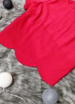 Блуза топ кофточка с фигурным низом george2 фото