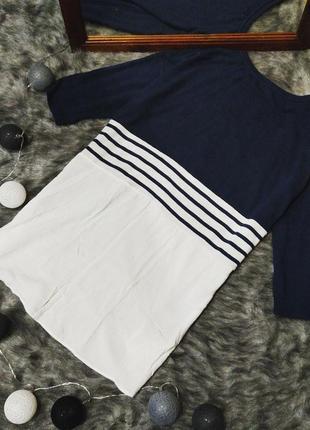 Блуза кофточка двойка с низом рубашкой tu2 фото