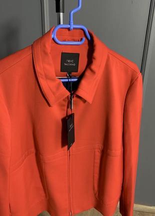Морковно-оранжевый деловой жакет-пиджак next