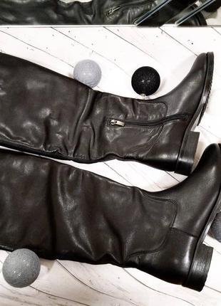 Распродажа! женские кожаные сапоги зима натуральная кожа2 фото